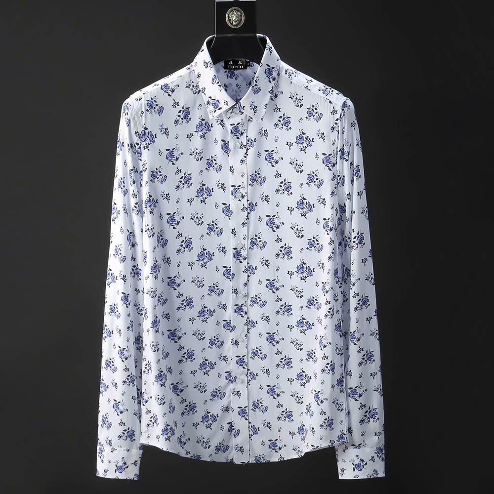 2018 long sleeve plus size 3XL top qualtiy men casual shirt male business dress shirt men brand social oxford shirts white