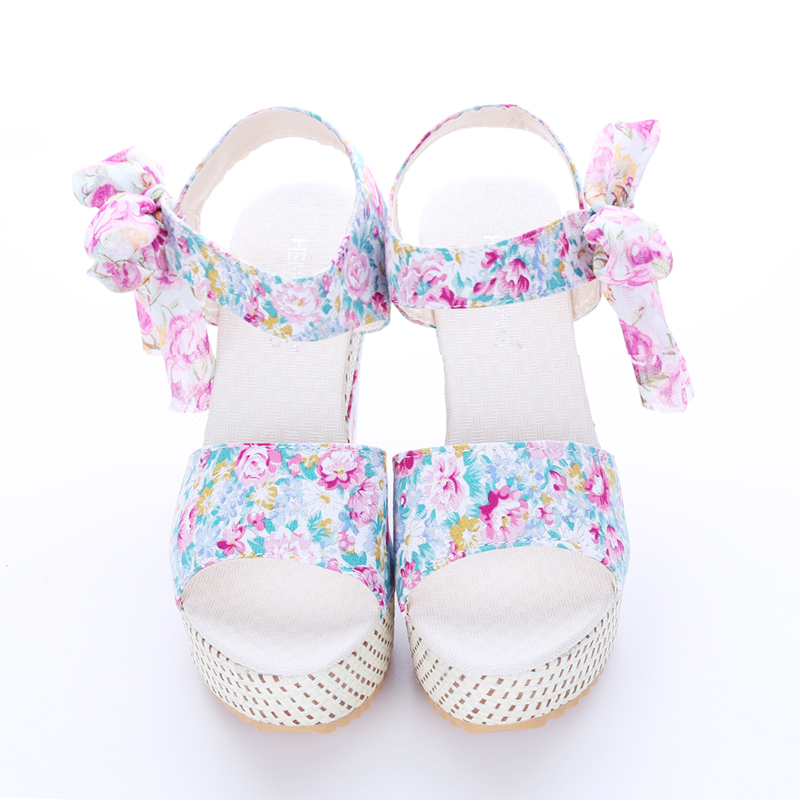 4b84e0f618d7 Fashion Women Sandals Summer Wedges Women s Sandals Platform Lace ...
