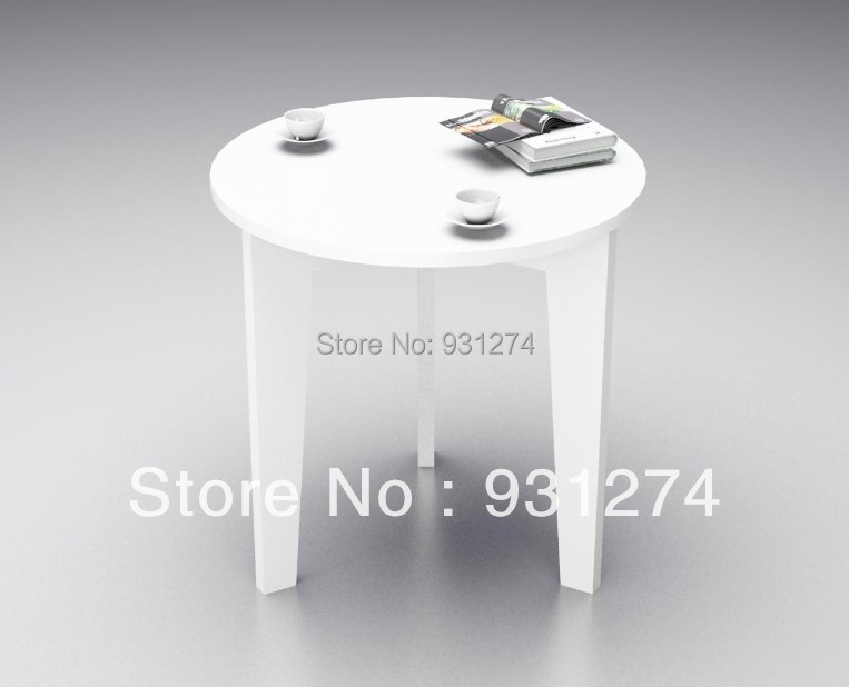 3 Legs Round Acrylic Tea Tables Lucite Coffee Tables Colored Sofa Tables In Coffee Tables From