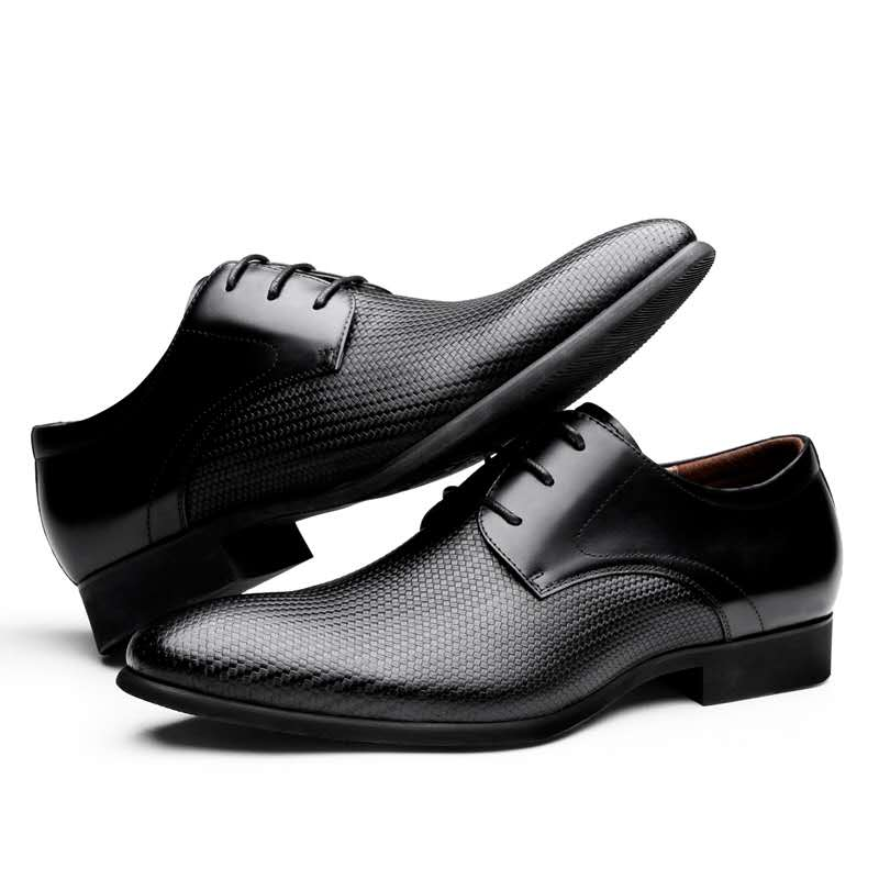 DESAI Genuine Oxfords Dress Loafer Office <font><b>Sketchers</b></font> <font><b>Shoes</b></font> for <font><b>Men</b></font> Formal Leather image