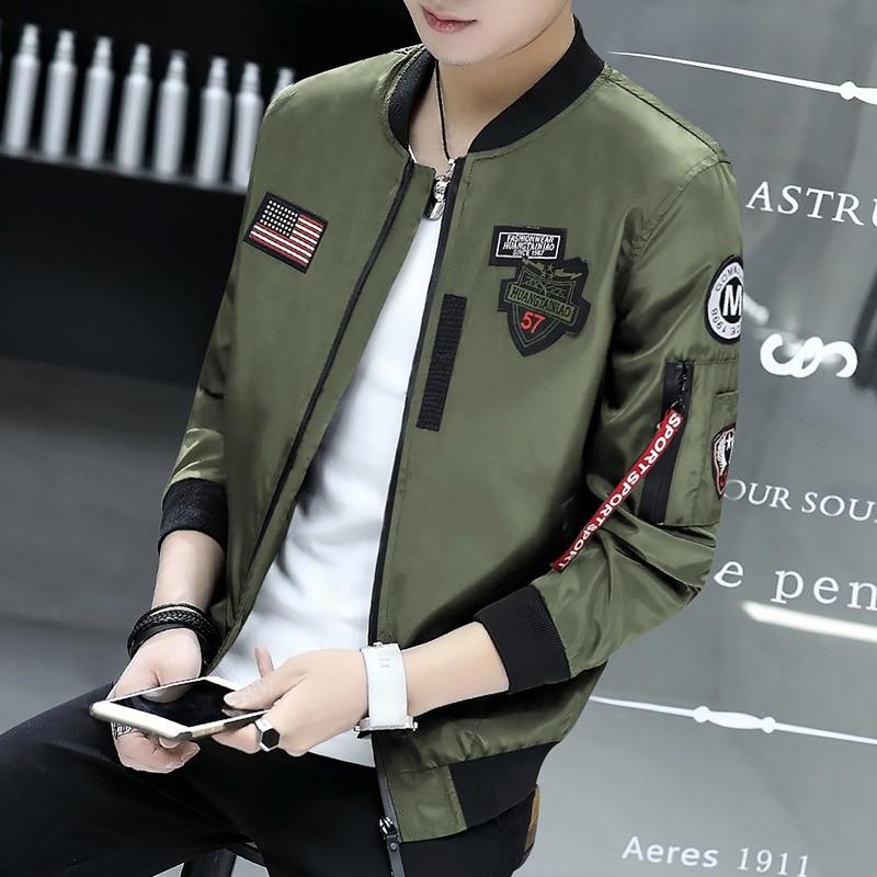 High-quality Autumn Winter Jacket Men Fashion Casual Loose Mens Jacket Sportswear Bomber Jacket Mens jackets Coats