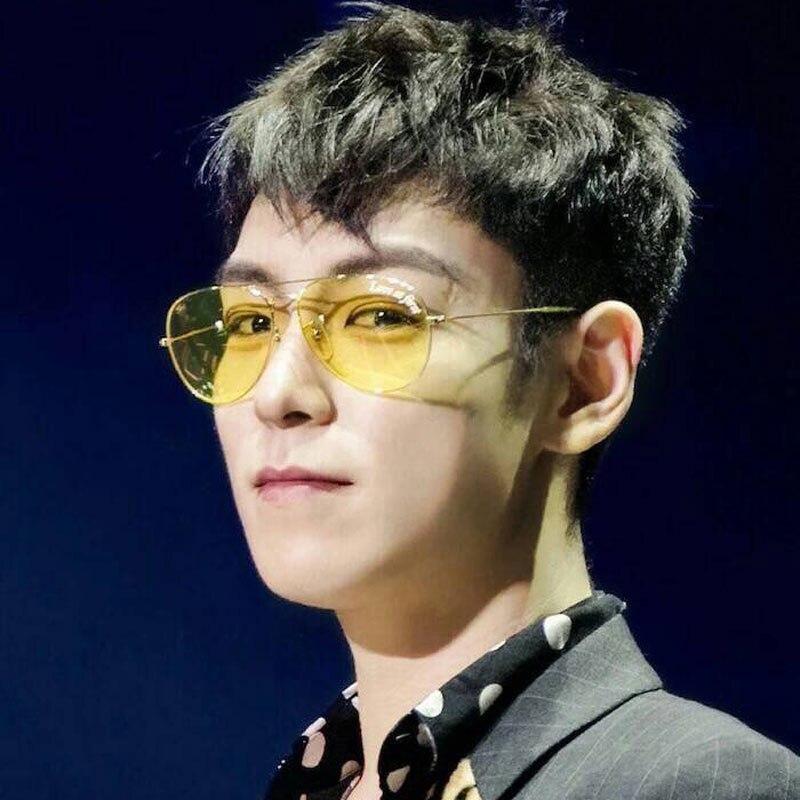 Night Driving Glasses Men <font><b>Sunglasses</b></font> Women Oculos Unbrand Yellow <font><b>Gray</b></font> Green Lenses