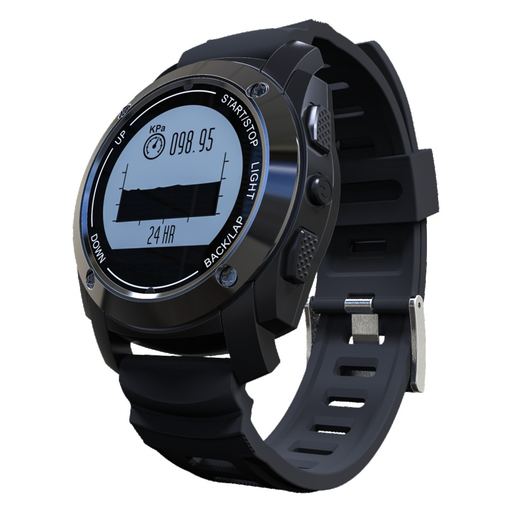 S928 GPS Smart Sports Watch Heart Rate Air Temperature Pressure Height Race Speed Monitor GPS trajectory Fitness Tracker ezon gps hrm heart rate monitor sports hiking training fitness watch calories pedometer bluetooth 4 0 smart sports watch t033