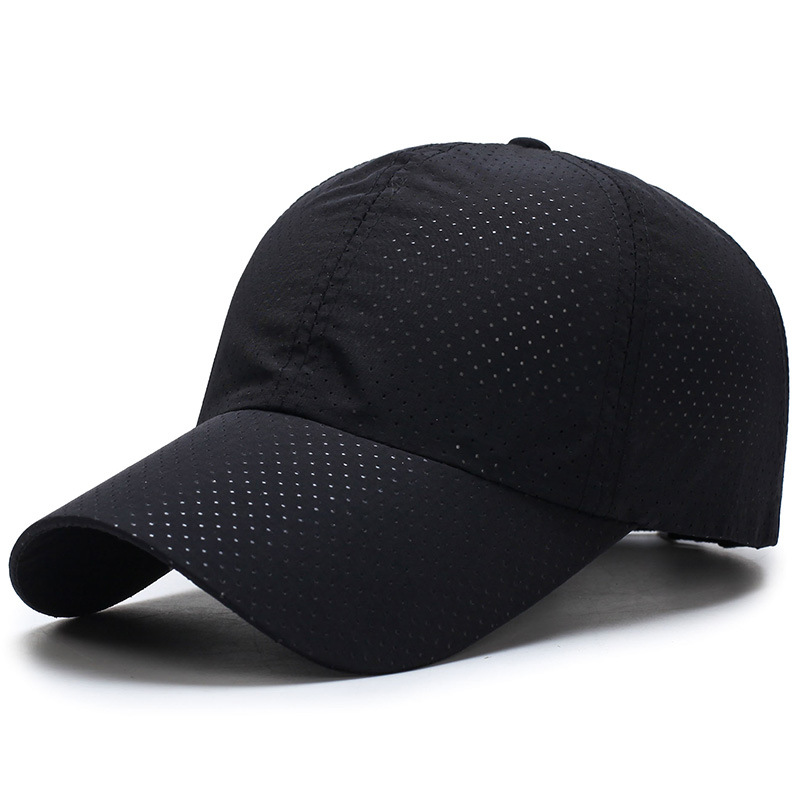 Outdoor Man Woman Summer Quick-drying Mesh Hat Visor Running Cap Breathable Golf Hat