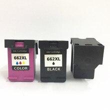 Vilaxh 3pcs 662xl compatible Ink Cartridge For HP 662 xl Deskjet 1515 1015 1018 1518 2515 2548 3548 4518 2648 2645 3545