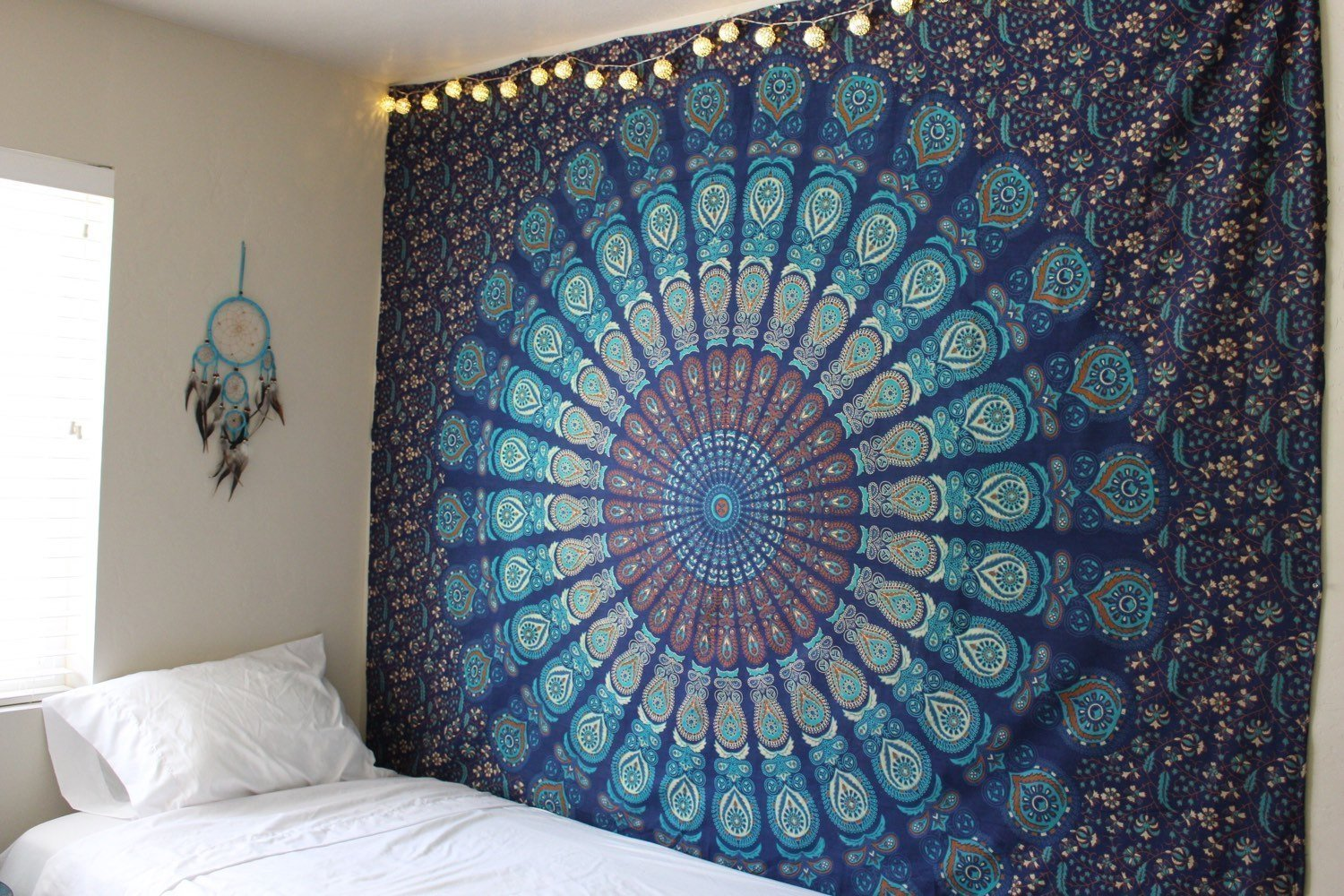 Magical Thinking Hippie Tapestry Wall Hanging Dorm Decor Wall Tapestries