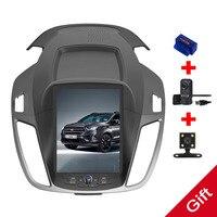 10,4 Тесла Android Fit FORD KUGA/Escape/c max 2013 2014 2015 второго поколения автомобильный dvd плеер навигация GPS радио