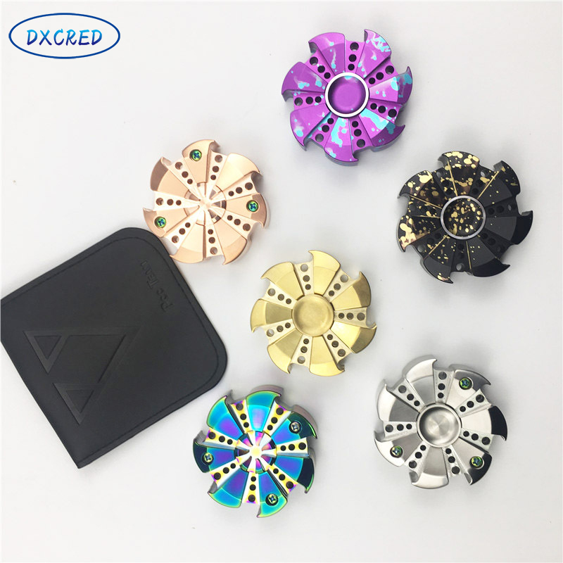 ФОТО Creative Full Set Of Gyroscope Fingertip Spiral UP With The  Of Decompression Finger Gyroscope Fingertips Spiral
