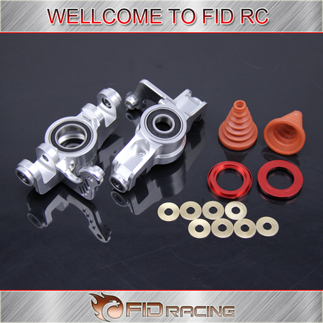Fid racing dual bearing dust proof copper sheet front wheel hub carrier for front wheel Losi 5ive t 5t-in Parts & Accessories from Toys & Hobbies    1
