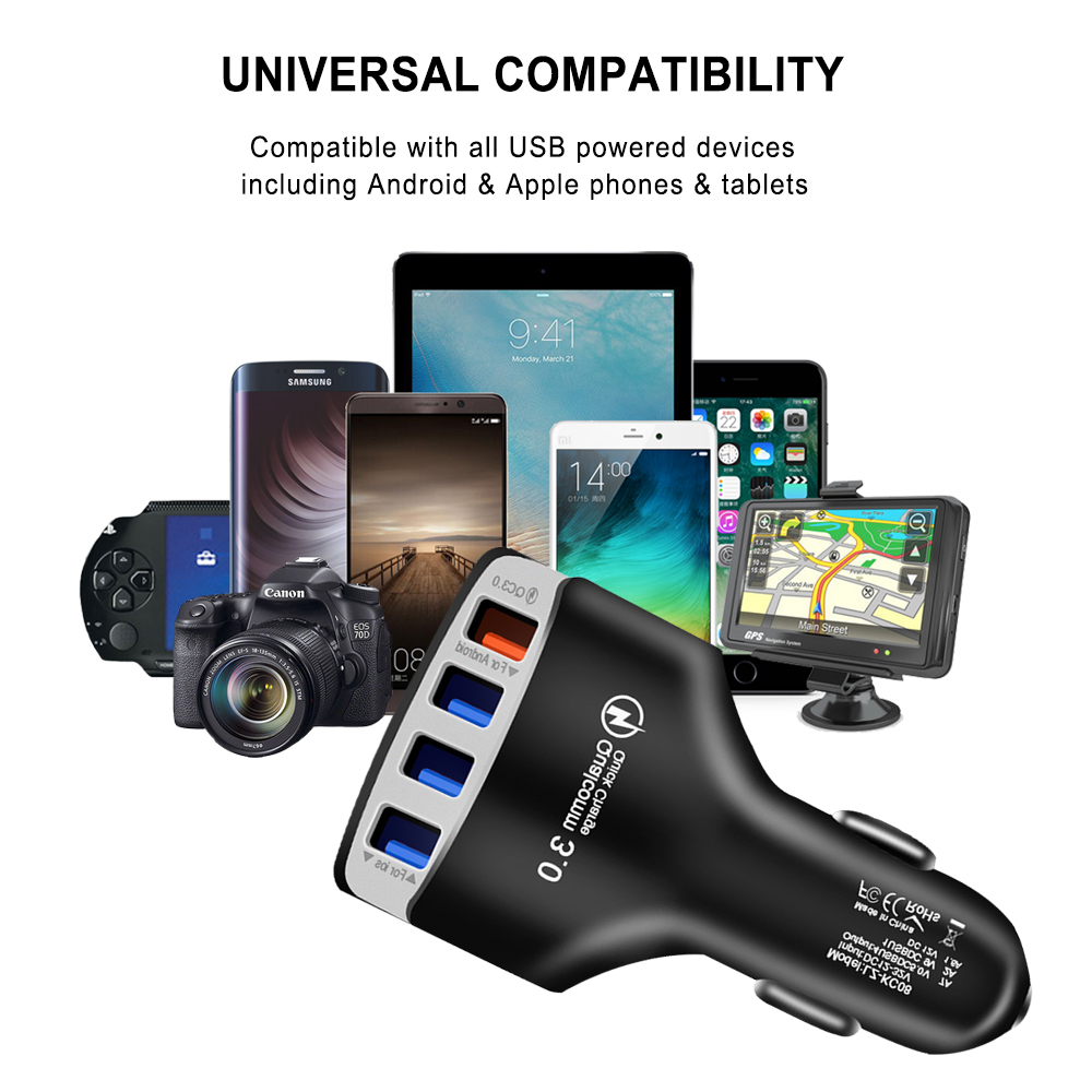 Quick-Charger-3-0-Car-Charger-Adapter-7A-QC3-0-Turbo-Fast-Charging-4-USB-Car (3)