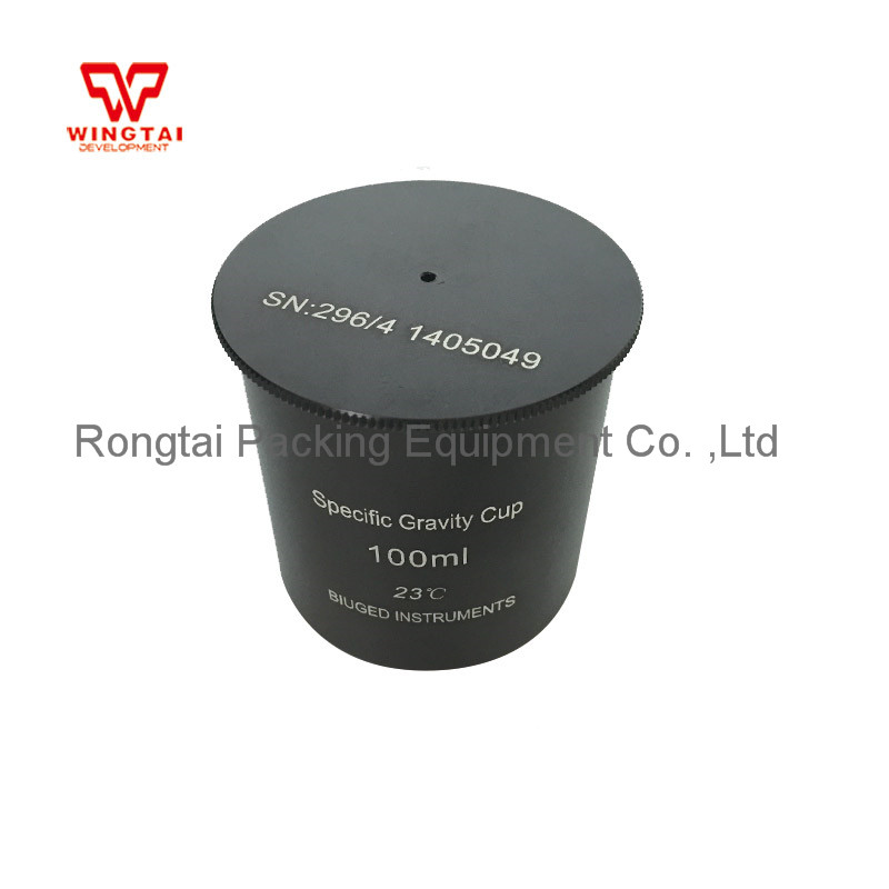 Aluminium Dichtheid Maatbeker 37cc/ml 50cc/ml 100cc/ml Specifieke Gravity Cup Hoge Precisie Dichtheid Cup voor Lab Testen - 2