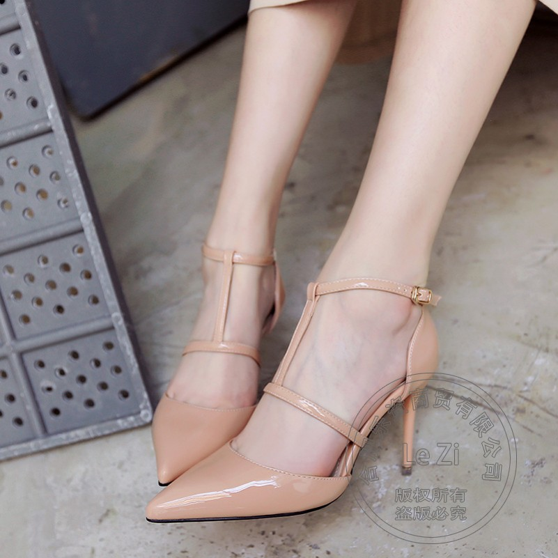 Pointy Soft Leather Brand Shoes Euro Style Famous Cheap Plain Leisure Pu Hasp font b Women