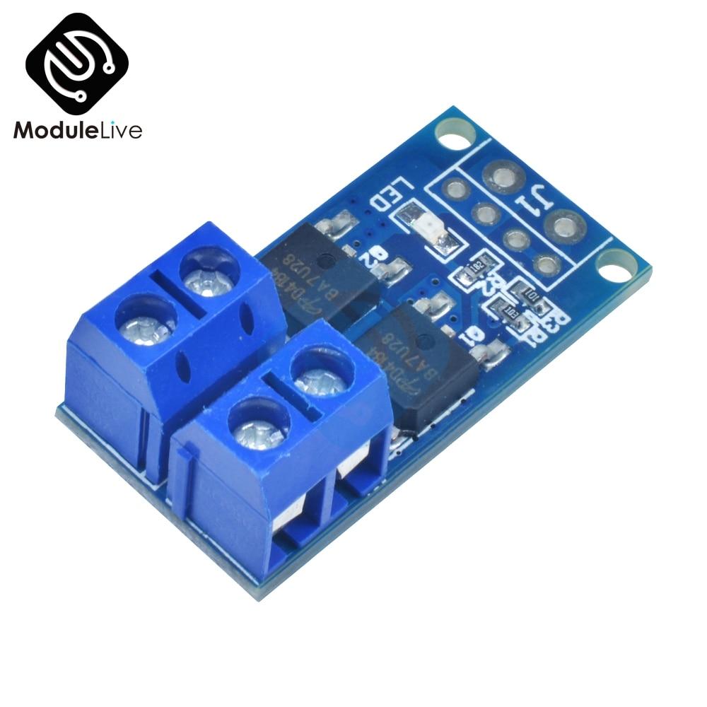 Pro 15A 400W Mos Fet Triggerschalter Drive Module Pwm Regler Control Panel//