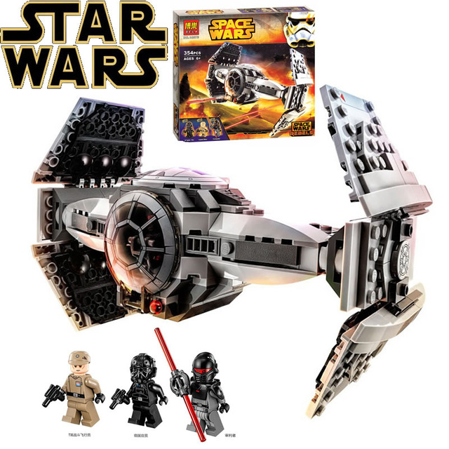 Star wars 10373 Modèle kits de construction compatible avec lego 75082 La Force Éveille LIEN Pointe Prototype fighter blocs jouets
