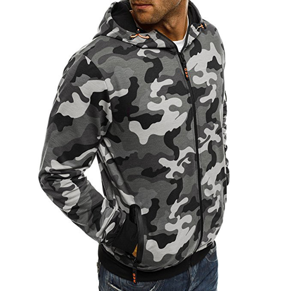 2019 New Camouflage Men 39 s Sets Cotton Sweatshirts Fashion Casual Sportswear Slim Fit Hip Hop Hooded Tracksuit in Hoodies amp Sweatshirts from Men 39 s Clothing