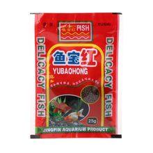 12g balık yem tahıl Protein akvaryum gıda besleme Goldfish tropikal sazan