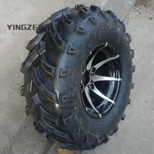 Картинг детская коляска ATV UTV 25X10-12 дюймов колеса бескамерные шины с ступицей из алюминиевого сплава