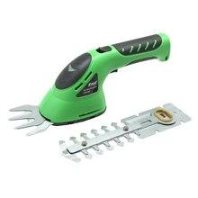 East garden power tool 3.6V 2 in 1 Li-Ion battery Pruning Cordless Hedge Trimmer Grass Brush Cutter Shrub Shear