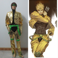 New Arrived JoJo's Bizarre Adventure Dio Brando Cosplay Costume for Christmas and Halloween