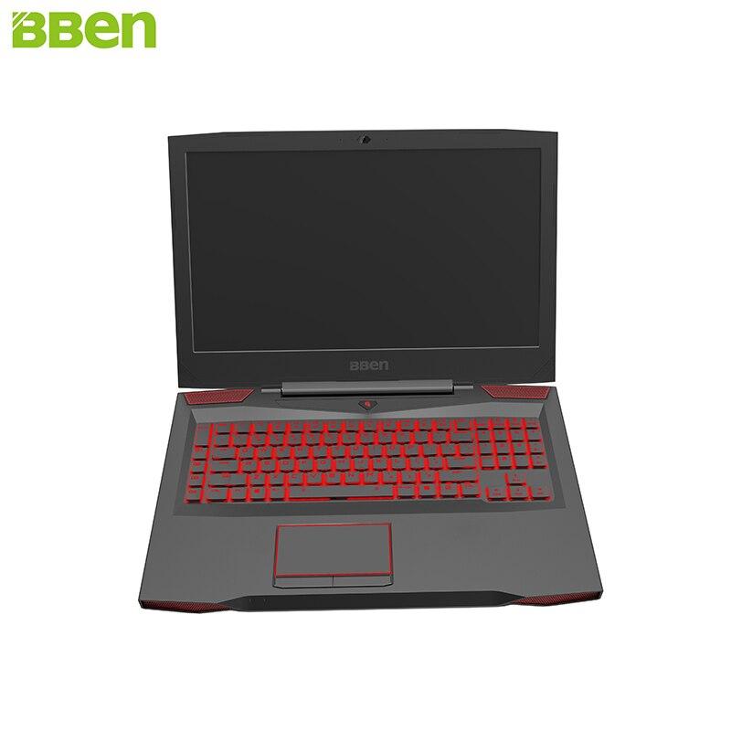 BBEN Ноутбук игровой компьютер Intel i7 7700HQ озеро Каби 6 г NVIDIA GTX1060 Windows 10 16 ГБ памяти RGB механическая клавиатура HD Камера