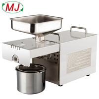 Factory direct oil press machine,oil presser Home ,stainless steel seed oil extractor,Mini Cold hot oil press machine T501