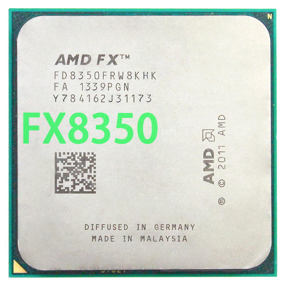 FX AMD FX-Series 8350 אוקטה Core/AM3 +/4.0 GHz/125 W/FD8350FRW8KHK