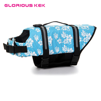 Free Shipping Pet Safety Dog Clothes Large Dog Life Jacket 2 Patterns 7 Sizes XXS XXL