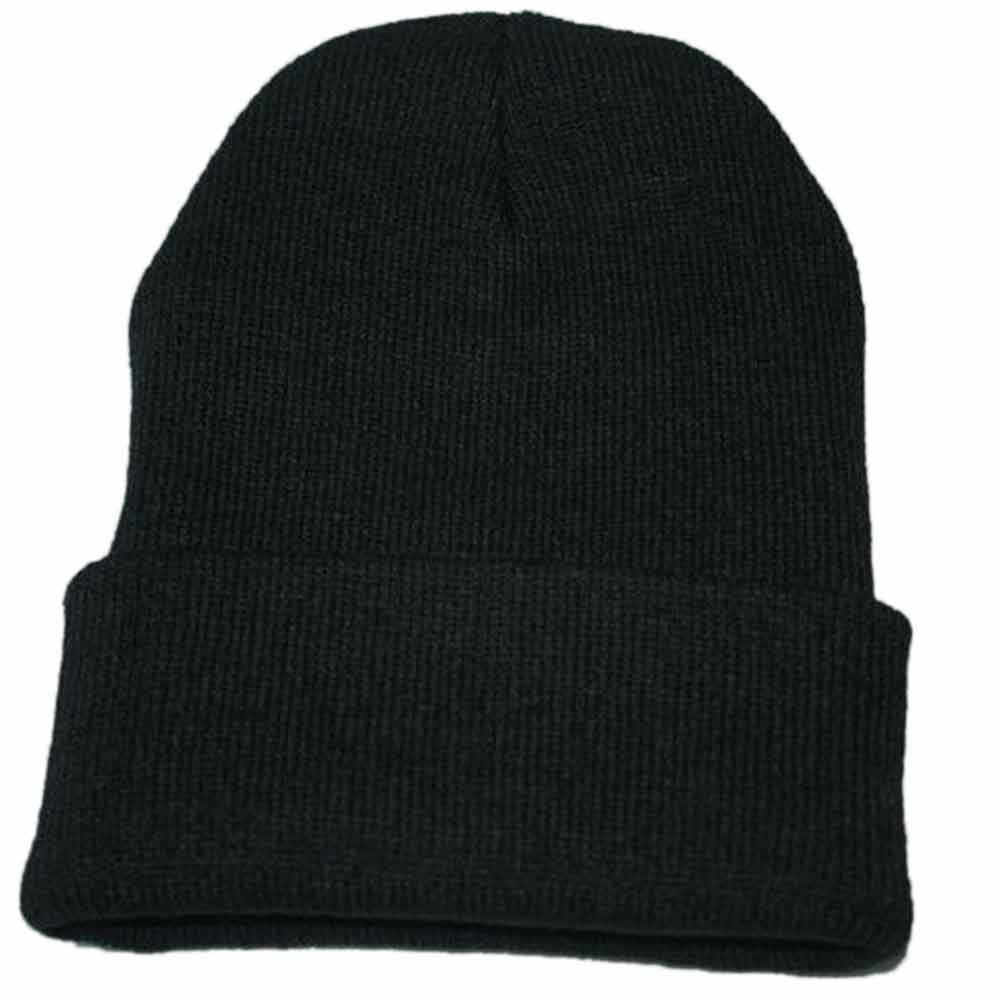 Skullies Mutsen Unisex Slouchy Breien Beanie Hip Hop Cap Warm Winter Ski Hoed Voor mannen Vrouwen Ladies fall 2019 Slouch hoeden