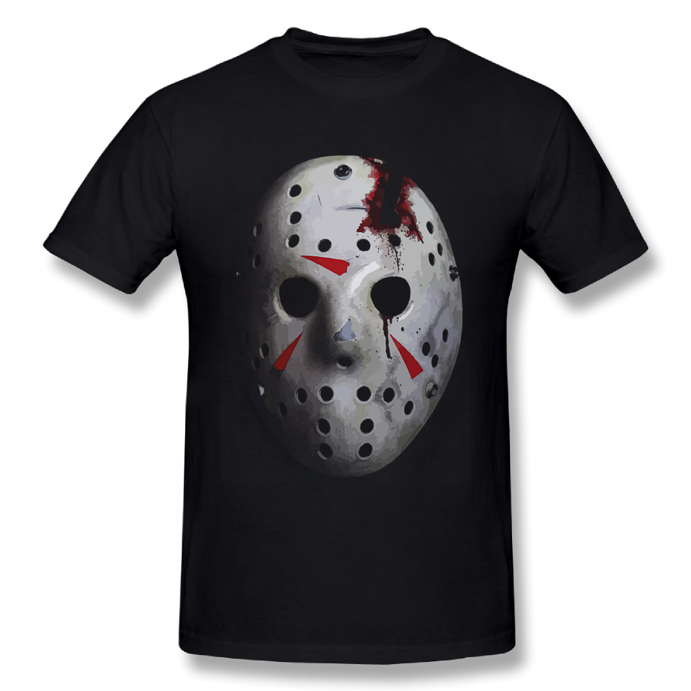 3D Print Friday the 13th T Shirt Man Popular Movie Game Jason Mask T-shirt Fashionable Men Great Design Tee Shirts ...