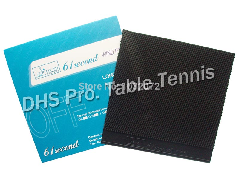 61second wind FT Long Pips Out Table Tennis Rubber Without Sponge Topsheet OX in Table Tennis Rackets from Sports Entertainment