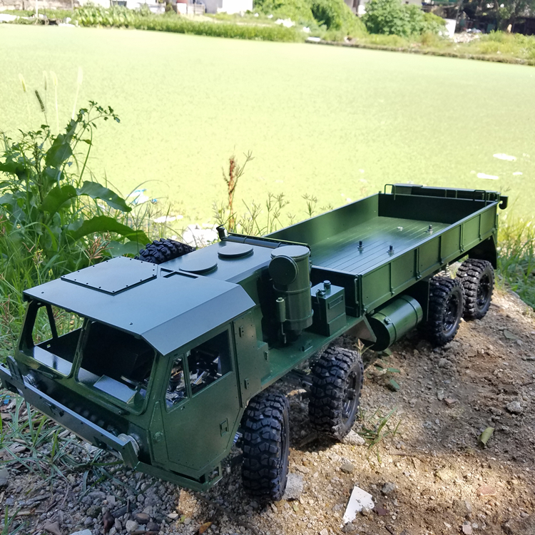 1/10 scale RC Rock Cralwer Truck 8x8  RC8WD Body Kits & Chassis Frame Kits Military  Tractor Truck For Cross  Capo ru aliexpress com мотоутка