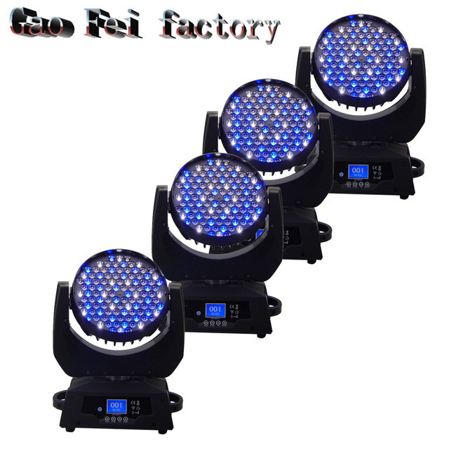 Us 1205 0 4pcs Lot Professional Led Stage Light 108 3watt Rgbw Color Mixing Moving Head Wash Function Ce Rohs In Lighting Effect From