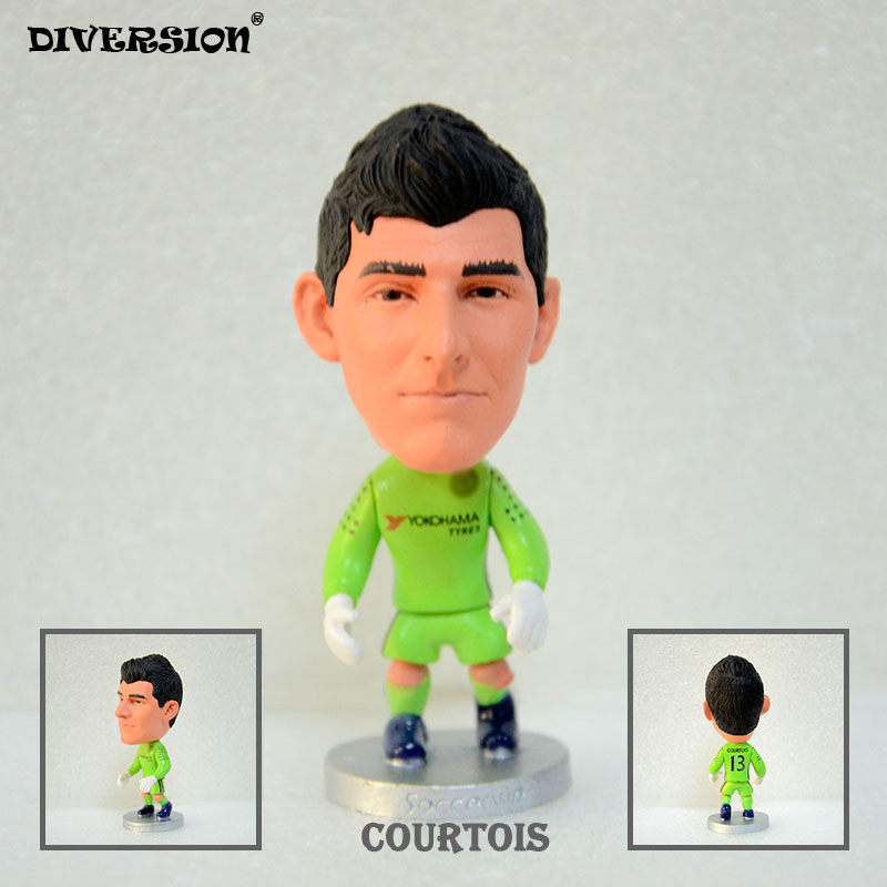 Soccer Player Star 13# COURTOIS (C-2018) 2.5 Action Dolls Figurine soccerwe
