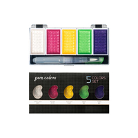 5 gem colors set