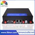 3 Г промышленные беспроводной маршрутизатор с Портом USB и 2 * RJ45 LAN порты и 4*3 Дби резиновая внешняя антенна для городской автобус применение