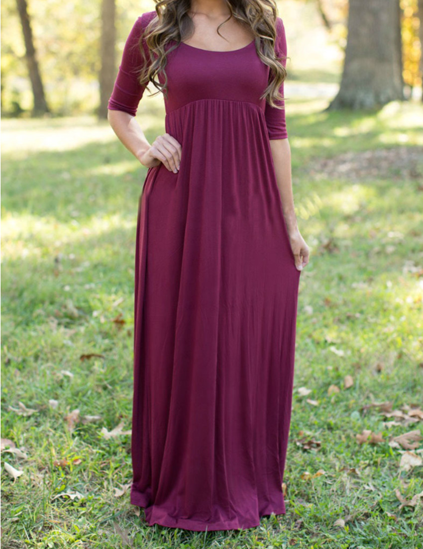 Fall Long Maxi Dresses