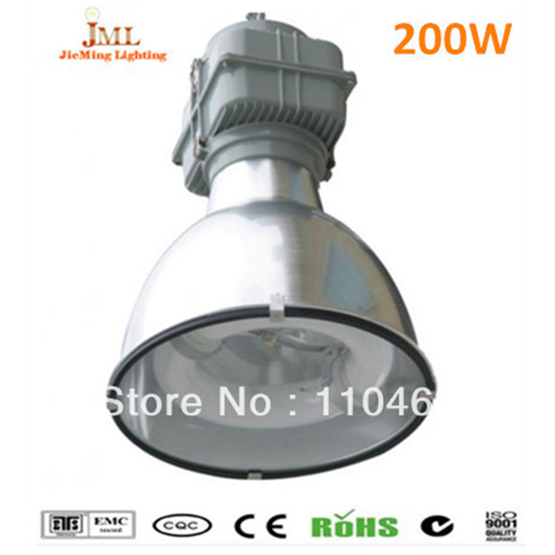 200W LVD Induction Lamps Magnetic High Bay Induction Lamp 5years warranty LED high bay High power outdoor IP65 Waterproof lamps