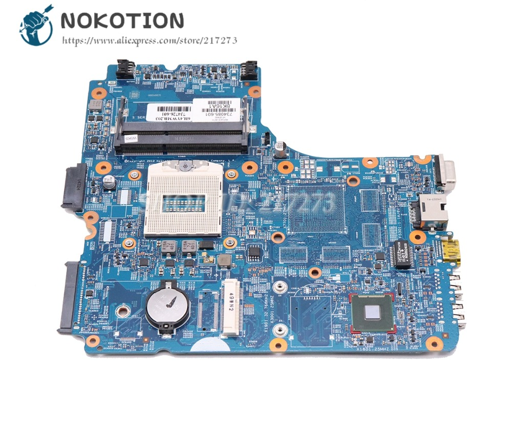 NOKOTION For HP Probook <font><b>450</b></font> G1 Laptop motherboard HM87 48.4YW05.011 734085-601 734085-001 Main Board image