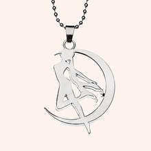 Cosplay Anime Sailor Moon Tsukino Usagi Necklace Metal Pendant Chain Kawaii Gift For Women And Girl Anime Necklaces Gift