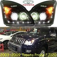 Prado Headlight LC120 FJ120 2700 4000 2003 2009 Free Ship Prado Fog Light 2ps Set 2pcs