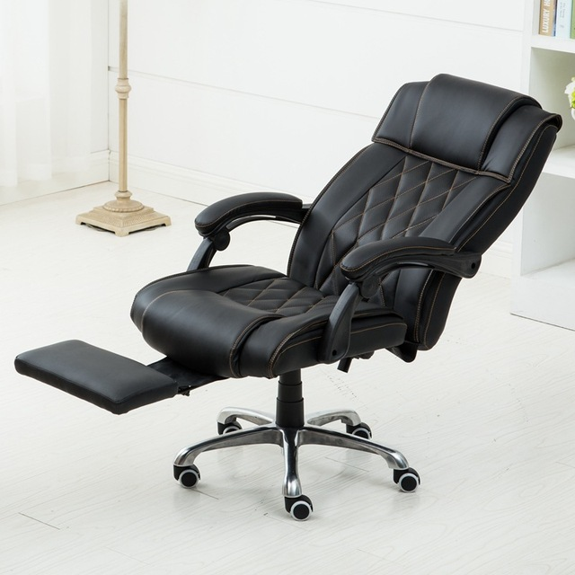 Good Swivel Ergonomic Executive Reclining Office Chair Computer Chair Lying  Lifting Adjustable Bureaustoel Ergonomisch Sedie Ufficio