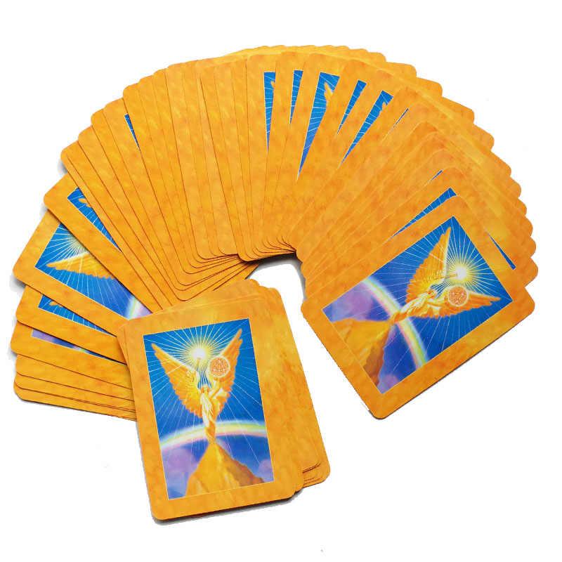 2019 新しい大天使 Oracle カードタロットデッキカードフォーチュン神話運命占い読み取るゲーム 45-カード/ セット