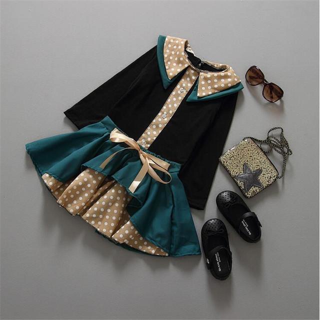 Versão coreana de modelos de primavera uma planície pouco série saia terno feminino Tong Chunqiu modelos primavera meninas roupa favorita