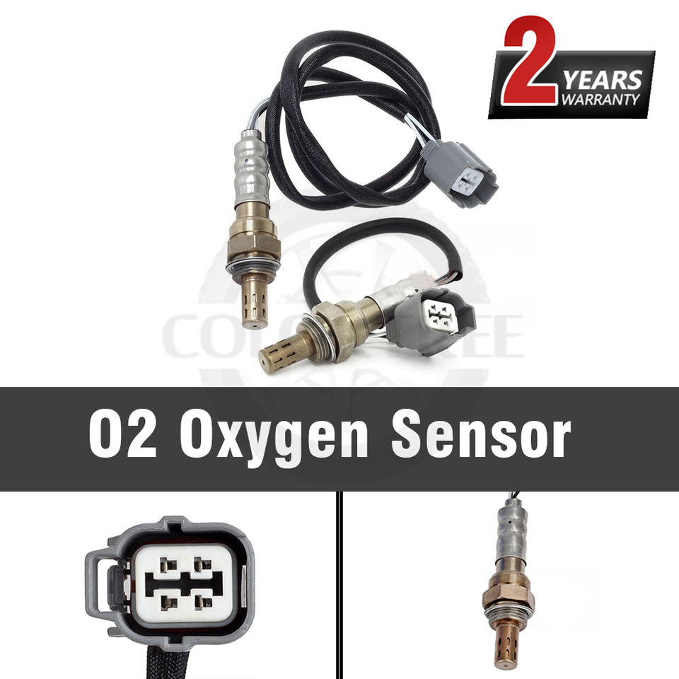 2pcs Up Downstream O2 Oxygen Sensor For 1998-2002 Honda Accord 2.3L F23A1 F23A5