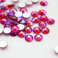 Light Siam AB More size DIY Nails Decoration Non Hotfix Rhinestone Flatback For Garment DIY Nails