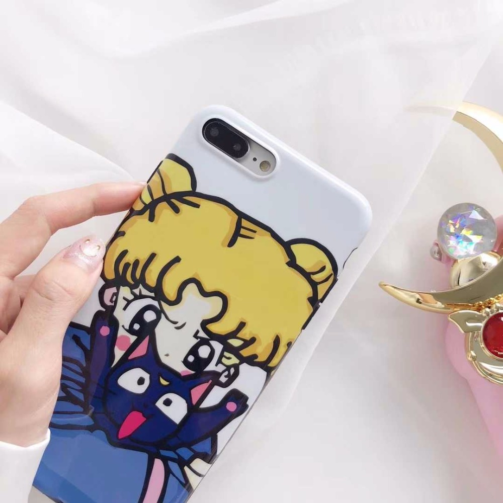 Warrior girl Cute girl for Apple iphone X mobile phone shell iPhone7plus/8/6s personalit ...