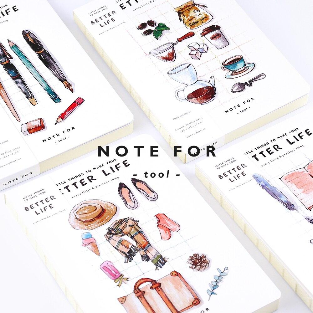 YMLP Creative Blanco paginaNotebook Sketchbook Planner Notebook the - Notitieblokken en schrijfblokken bedrukken - Foto 2