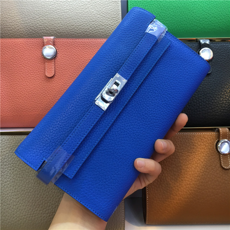 Women Wallet Bag Casual Genuine Leather Ladies Wallet Female Fashion Wallet Small Long Cluth Girls Coin Purse Carteira Feminina