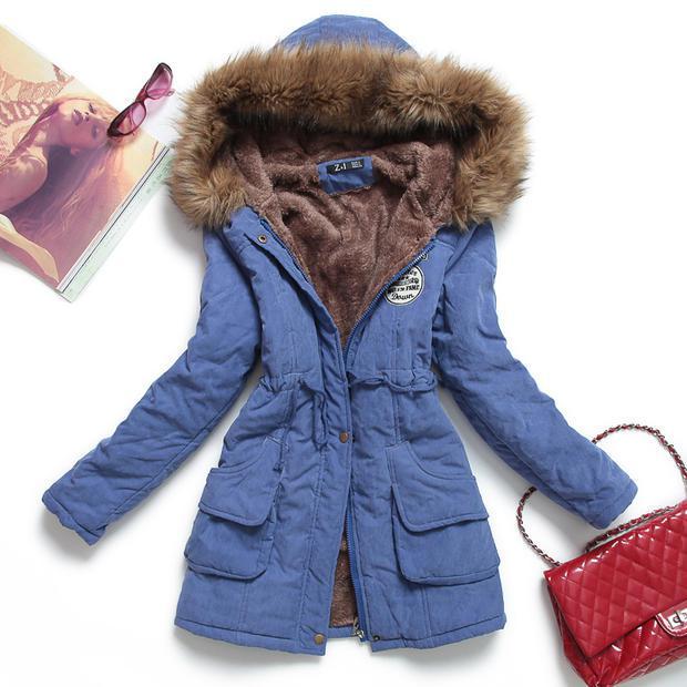 HTB1dNZratfvK1RjSspfq6zzXFXaj 2019 New Parkas Female Women Winter Coat Thickening Cotton Winter Jacket Womens Outwear Parkas for Women Winter