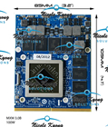 CLEVO ver HD 7970M HD7970M 2G DDR5 VGA Video Card for P150SM P157SM P151SM1 P570WM3P570WM